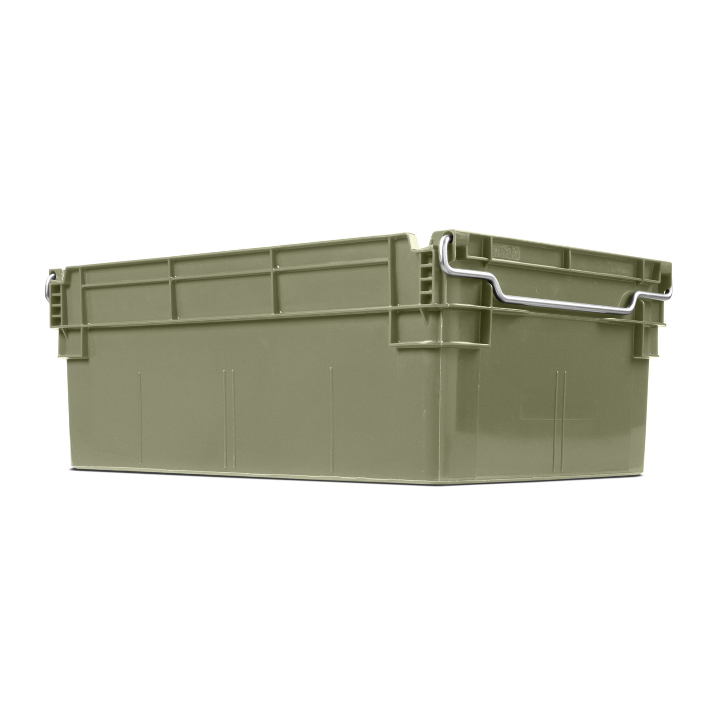 45 liter Container with stacking bars